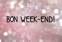 #bonweekend