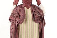 robe polonaise / Rokoko