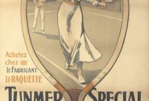 Vintage Tennis Posters / All things vintage & tennis / by Rennert's Gallery