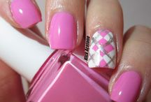 nails-pinks and purples / by Eva Murphy