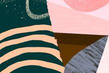 illustrations & patterns