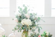 Romantic Florals / Florals and Design by No Worries Event Planning