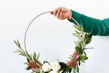 Minimalistic wreath