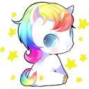 cuty sweety puffy unicorn