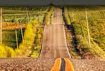 Along the way, Travel... / scenes of roads or pathways