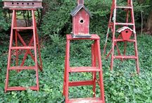 Bird Houses / I like bird houses and I like watching the birds.   / by Carol Tuomi