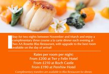 Roch Castle Promotions / Promotions and news from Roch Castle Hotel, Pembrokeshire