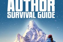 Indie Author Survival Guide / This book is for every author who's thinking about indie publishing, or has already taken the leap, and wonders why no one told them about the sharks, the life-sucking social media quicksand, or the best way to avoid sales-checking, yellow-spotted fever. This is a guide for the heart as much as the head. Kindle (http://bit.ly/IASGAmazon), Nook (http://bit.ly/IASGNook). / by Susan Kaye Quinn