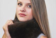 Scaldacollo in pelliccia / Ampio assortimento di accessori in pelliccia naturale.  Visita il nosto store internazionale di accessori in autentica pelliccia naturale.  www.amifur.com