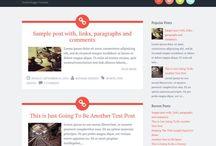 WEB design, BLOG things
