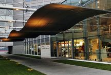 The Museum Architecture / Museo Nicolis, The Museum of Cars, Technology and Mechanics, is housed in an ultra-modern, futuristic glass and steel structure, located in Villafranca di Verona, Italy.