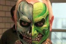 Halloween face ideas