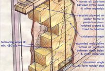 Szalmabála ház szerkezet