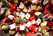 Saláták Salate