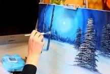 ζωγραφική με ακρυλικά