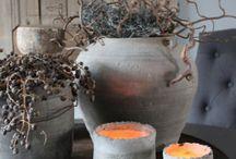 sober , stoer ,  landelijke decoratie / by Lize Hendriks
