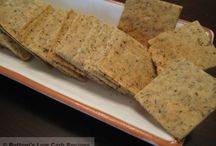 Low Carb Crackers ☺ Low Carb Cracker Recipes / Low Carb Crackers ☺ Low Carb Cracker Recipes