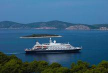 """SeaDream Yacht Club / Des croisières de luxe à bord de yachts de 112 passagers maximum pour 95 membres d'équipage! Formule """"tout compris""""."""
