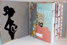 Baby diary DIY