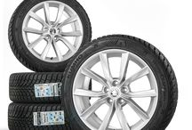 Original Skoda Felgen / Räder / Vertrauen Sie auf das Original vom Hersteller. Vertrauen Sie auf Qualität und auf Klasse, auf Original Skoda Felgen und Reifen.