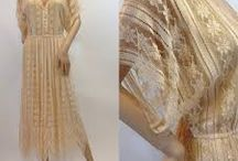 Vintage silk & lace / Vintage lace dresses and intricate silk detail / by NATION of VINTAGE