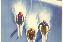 Vintage Ski Posters / by Rennert's Gallery