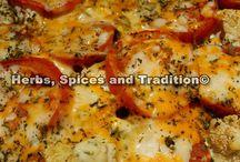 Vegetable bake / Low fat vegetable bake recipe