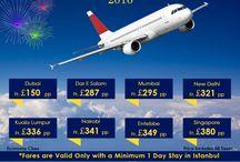 New Year 2016 flight offers
