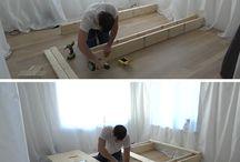 DIY camas