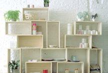 -Home- / meubles - maison - intérieur - extérieur - jardin - wall peinture - déco / by Katz Amandine