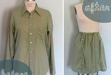 Reuse: Men's Shirt Refashion Tutorials / by Anna Veach
