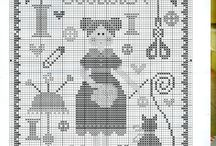 Tralala cross stitch