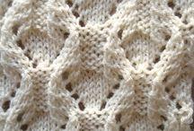 ♥ knitting stitches ♥ / knit