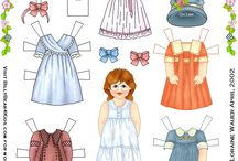 Paper dolls / by Ann Brandon