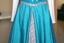 Roupas e vestidos de dança