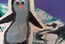 penguins / by Linda Harrelson