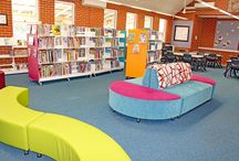 Library Furniture - Palmyra Primary School / Palmyra Primary School revamped their library and DVA supplied much of the furnishings.
