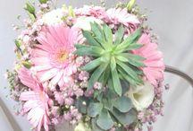 svatební kytice moje tvorba