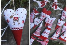 Heart sew christmas