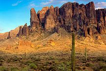Arizona Backcountry Camping / A wish list of backcountry spots in Arizona. Did we miss something? Let us know at info@bushsmarts.com