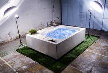 Acca2one® - Una nuova concezione di vasca per l'interno e l'esterno / AccA2ONE, la vasca idromassaggio dal design esclusivo ed ergonomico nasce dalla fusione dell'acqua e del fuoco