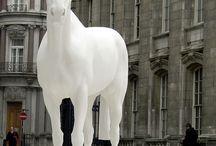 Art - Скульптура - Лошади