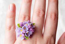 kwiaty biżu
