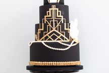Art Deco Cakes