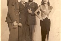 Ernie Pyle's Story of G. I. Joe / My Dad was one of the many Army extras hired to play the part of soldiers in the movie.  My Dad became very close friends and drinking buddies with Robert Mitchum.   / by Buy-Sell Network