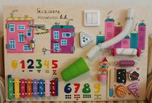 Baby busy board