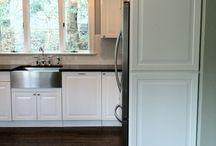 Pat's kitchen. / Family renovation project.
