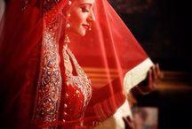 Wedding photography / #Beautiful  #beauty  #wedding  #bride  #pose  #dress  #red  #celebrating #moment  #click