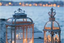 lanterns / lanterns are very nice to c especially at nite