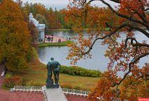 Золотая осень Пушкин